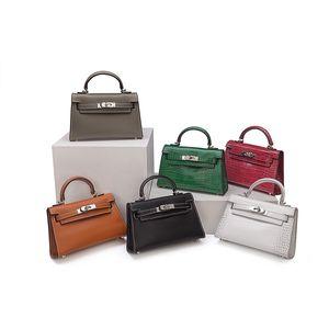 2020 tasarımcı çanta avuç izi pu çanta Mini Kelly çanta bayanlar crossbody emma çanta resmi fabrika çıkışı 1002