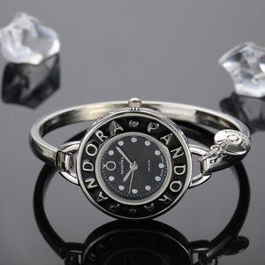 Pandora ince saatler 30MM Womens saatler elbise tasarımcısı moda bilezik ünlü marka elbise hediye saatler Ultra Orologio'nun relógio