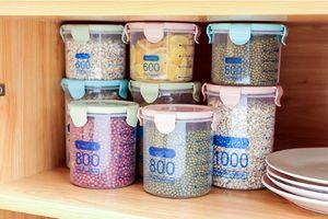 28OZ PP تخزين المواد الغذائية صندوق شفاف حفظ الطعام علب مختومة من خزان مع غطاء وجبة خفيفة صناديق الغذاء الحاويات