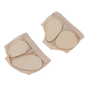 New 1 Pair Foot Protector Forefoot Dance Paws Cover Toe Undies Shoes Ballet Gymnastics Dance Latin Practice Foot Set Front Prote