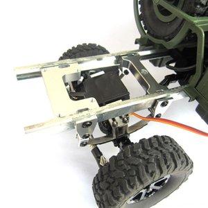 Для WPL B1 B1 B14 B14 B16 B16 B24 B24 C14 C14 B36 MN Модель D90 D91 RC автомобилей Обновление частей Модифицированный Rudder Металлические крепления Запасные части Too