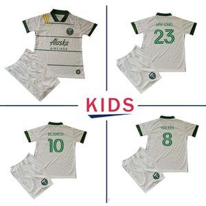 2020 2021 MLS KIDS Portland Timbers soccer jerseys 20 21 MLS BLANCO CHARA VALENTIN VALERI kids kit football Shirts