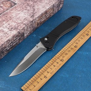 New 710 folding knife folding knife D2 blade G10handle outdoor tactical self-defense hunting EDC multi-pocket tool collection with sales box