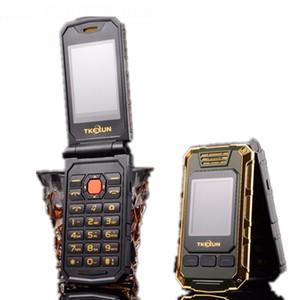 Telefono TKEXUN G5 originale da donna con vibrazione Doppia fotocamera con doppio schermo Bluetooth Dual Sim Card 2.4 pollici Touch Screen Cellulare di lusso