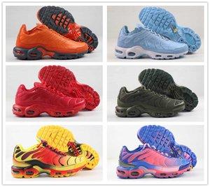 Ucuz toptan TN artı SE erkek koşu ayakkabıları beyaz siyah, kırmızı, ultra mavi 3D Gerileme Gelecek erkek spor ayakkabıları moda spor ayakkabı gözlük