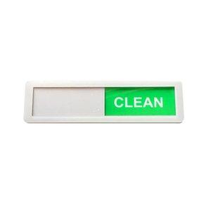 Zimmerreinigung Tipps Sauberkeit Schilder Hotels Magnetschilder Acryl-Spül Sauber schmutziges Zeichen Start Raumdekoration