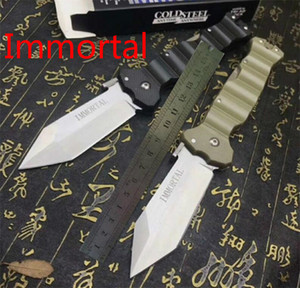 Perfect Quality Cold Steel Knives 23GVG Immortal 8CR13MOV Folding Tactical Outdoor Pocket Camping Huntting Survival Knife