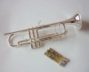 فنسنت باخ المهنية bb البوق TR-500S الفضة مطلي الموسيقية المهنية البوق TR500S مع حالة المعبرة