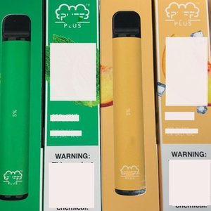 Puff Bar Plus Disposable Vapes Device Pod Kit 800 puffbars 3.2ml Cartridges Vape Empty Pen Vape Cart Packaging e cigarette.