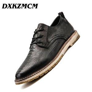 DXKZMCM Main Hommes Robe Mocassins Microfibre En Cuir Formal Business Oxfords Chaussures Loisirs Hommes Appartements pour La Fête