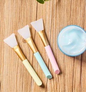 Máscara de silicona suave Pincel Professiomal Maquillaje Pincel Aplicar espátulas de mezcla Pincel Maquiagem Cuidado facial diario Herramientas de belleza