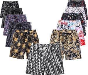 Designer Shorts New shorts pour ommes Men's Summer Beach Shorts High Quality Swimwear Bermuda Men's Letter Surfing Men's Swimming