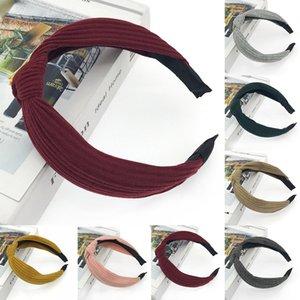 New Fashion Women Short Head Scarf Twist Bow Knot Sleepers Headwrap Headband Hoop