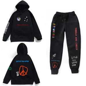 Astroworld emoções e arrepios Hoodies Mais de calças Outono Streetwear pulôver Travis Scotts Homens Jovens Mulheres FashionHip Hop Impres SH190920