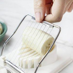 Leeseph Fonksiyonlu Yumurta Dilimleyiciler - 304 Paslanmaz Çelik Yumurta Kesici Tel, Mutfak Aksesuarları Dilimleme alet Pişirme Araçları