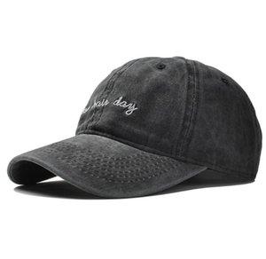 DHL Men Hiphop Cap Casquette Snapback Caps Women's Washed Cotton Baseball Caps Fitted Plain Dad Hat nx
