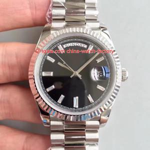 3 Estilo Melhor Qualidade Top Fábrica V2 41mm Dia-Date II Presidente 228239 228349 228349RBR Swiss CAL.3255 Movimento Automático Mens Watch Relógios