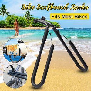 """Fahrrad Surfing Carrier Mount zu Platzpfosten 25 bis 32mm Zubehör Fits Surfboards Up 8 """"Bike Mount Surfboard Wakeboard Racks"""