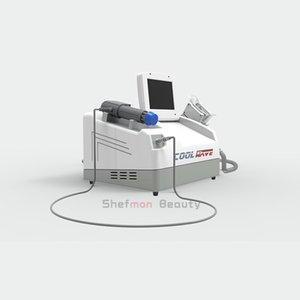 celulite gordura portátil congelação de choque onda de fisioterapia máquina de emagrecimento / vácuo Cryolipolysis Magro Congelar Belt crioterapia máquina