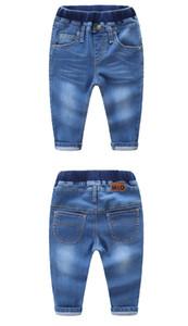2019 Art und Weise scherzt Jeans 2 Farben Jeans für Jungen-Mädchen-Art-Denim-Hosen-Jeans-Baumwollhose für Baby-Jungen / Mädchen Jean