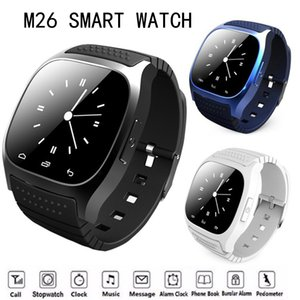 Smartwatch M26 Bluetooth Smart Watch with LED Alitmeter Music Player Pedometer for Android Smart Phone for Xiaomi for Meizu