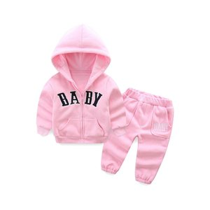 Kids Tracksuit Girls Tracksuit Designer Casual Clothes Girls Suits Hoodies Kid Sportswear Sets Coat+ Trousers Kids Pants A6450 Qjaka