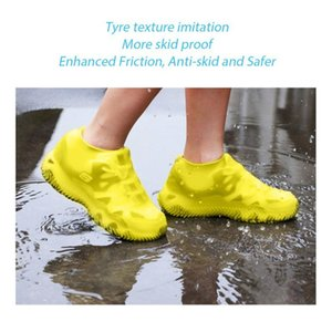 Unisex Waterproof Silicone Shoes Covers material protective shoes rain boots for indoor outdoor rainy days outdoor Tools