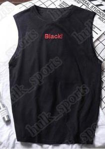 62Summer maniche sportivi e gilet di fitness uomini sciolti T del cotone della camicia in esecuzione gilet tendenza abbigliamento sotto outsidse abbigliamento comodo 50