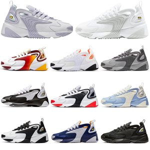 Brand Sneakers ZOOM 2K Mens Womens Tennis Shoes Oxygen Purple Unite Totale Black White Race Red Pink Grey Infrared Men Trainers Size 36-45