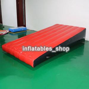 Ücretsiz kargo Yüksek kalite spor Şişme hava yuvarlanan parça rampa mat jimnastik bir hava pompası ile eğim paspaslar
