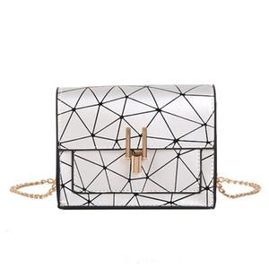 HWJIANFENG moda sac sacchetto donne geometrica Rombico femme principale sopra il sacchetto delle donne del sacchetto di vimini spalla sopra la piccola spalla