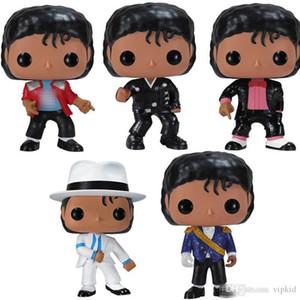 Baixo preço FUNKO POP MICHAEL JACKSON Beat It Billie Jean BAD SM00TH CRIMINAL Figuras Coleção Modelo Brinquedos para o presente de aniversário crianças