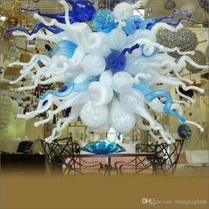 Aire envío larga escalera Lámparas Soplado lámpara de cristal turca del estilo del arte de la decoración hecha a mano soplado lámparas de cristal