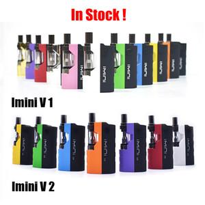 Original Imini V1 V2 Starter Kit mit 0,5 ml 1,0 ml Vape Wachspatrone Vaporizer 500mAh 650mAh vorheizen Vape Pen Batterie Alle Farben