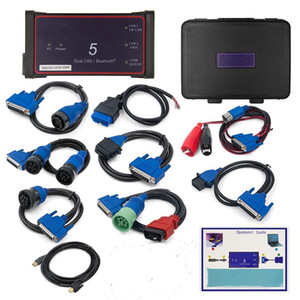 Professional DPA 5 Dearborn Protocol Adapter 5 Adaptadores completa DPA5 Heavy Duty Truck Scanner Sem Bluetooth dual pode DPA5