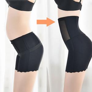 Mulheres Corpo Shapewear Seamless Shapers Corset Controle calcinhas de cintura alta emagrecimento barriga de Controle Calcinhas Calcinhas Briefs Underpant