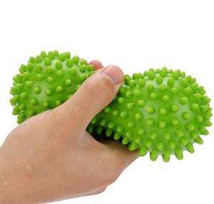 Massage peanut Ball Spiky Trigger Point Relief Muscle workout exercise balls Pain Plantar Stress Ballss Foot back roller massager
