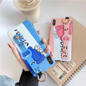 Cute Cartoon Sesame Street Cookie Elmo Wristband del telefono di caso per iPhone11 Pro max TPU molle della cassa