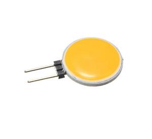 G4 COB DC12V 4W 5W 7W 12W quentes Pure White LED 15 18 30 63 chips substitua a lâmpada lâmpada de halogéneo Spot Light