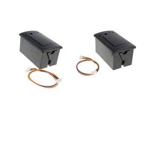 2x 58mm 701 Micro Bill Black Встроенный термопринтер RS232 / TTL для печати