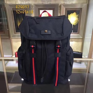 Tasarımcı sırt çantaları ünlü adam tasarımcı çanta öğrenci sırt çantası tuval malzeme büyük kapasiteli tasarımcı moda modern sırt çantaları
