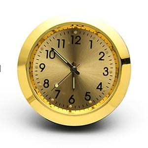 Reloj del coche luminoso Mini Automóvil Insertar interna Tipo reloj digital mecánicos de cuarzo Relojes Decoración de accesorios del automóvil regalo aC BH3510
