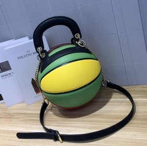 Дизайнер новая тенденция круглые роскошные сумки баскетбол стиль личности творческий ручной клади плечо диагональ пакет бесплатная доставка