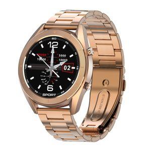 2020 Nouvelle DT99 intelligente Montre IP68 ronde étanche ECG écran HD détection changeable Dials Smartwatch Fitness Tracker Hommes