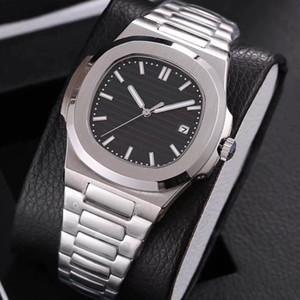 19 colores del reloj para hombre de plata de cristal de zafiro y oro de segunda mano movimiento automático Glide sooth reloj de pulsera