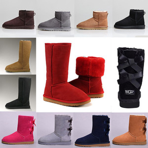 Australien Short Mini Sprunggelenk Knie Hoch Designer Boot Baile2020yKeep Warm neuer Ankunfts-Frauen Stiefel Klassische Bogen Männer Winter Schnee Booties 36-41