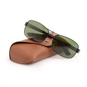 New Mens Sun Glasses Brand Designer Sun Glasses Ray Womens Sunglasses 3379 Glass Lens Sunglasses Metal Fashion Unisex Glasses Come With Hbok