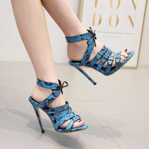 Magical2019 High Chalaza Sandals Hollow Out Fine con scarpe da donna 40 Codice