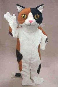 كاليكو القط التميمة حلي كارتون الطابع الكبار الحجم موضوع كرنفال حزب cosply mascotte الزي البدلة صالح تنكرية