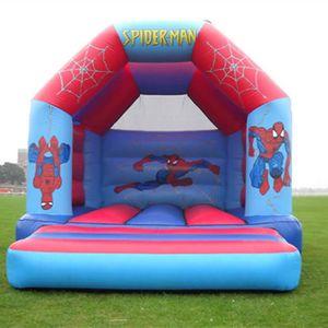 Trasporto Libero Castello Gonfiabile Buttafuori trampolino gonfiabile salto per i bambini gonfiabile buttafuori All'aperto con un ventilatore